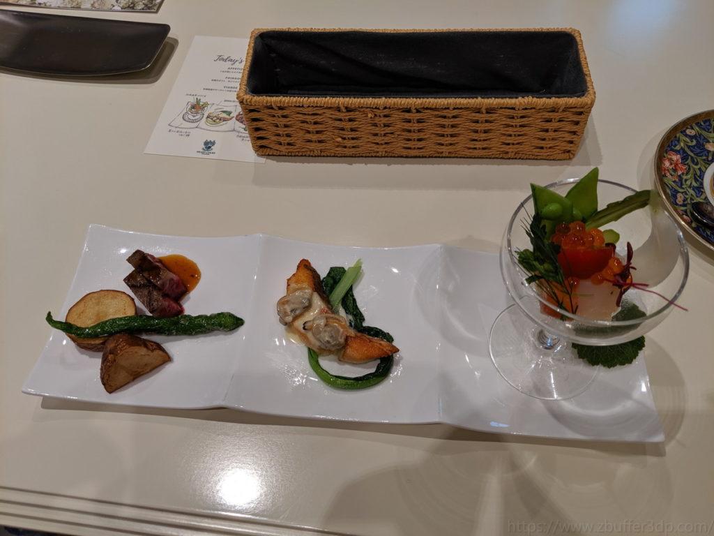 ハートコート横浜での試食品