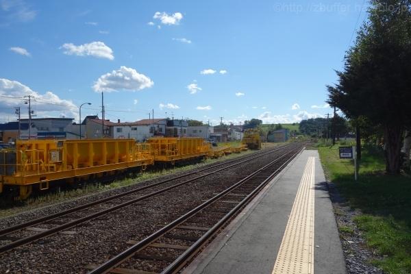 美瑛駅のホーム