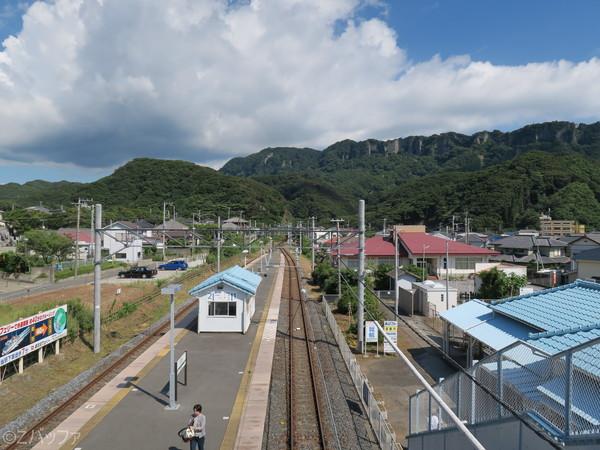 浜金谷駅からの鋸山