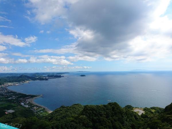 鋸山展望台からの景色