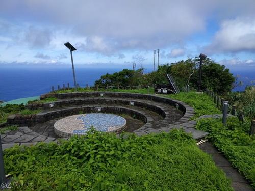 青ヶ島の尾山展望公園