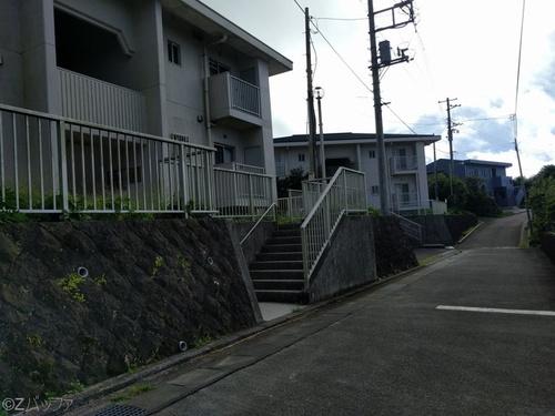 青ヶ島の住宅街