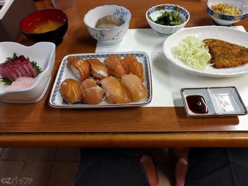 青ヶ島の島寿司