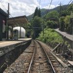 JR青梅線白丸駅の景色