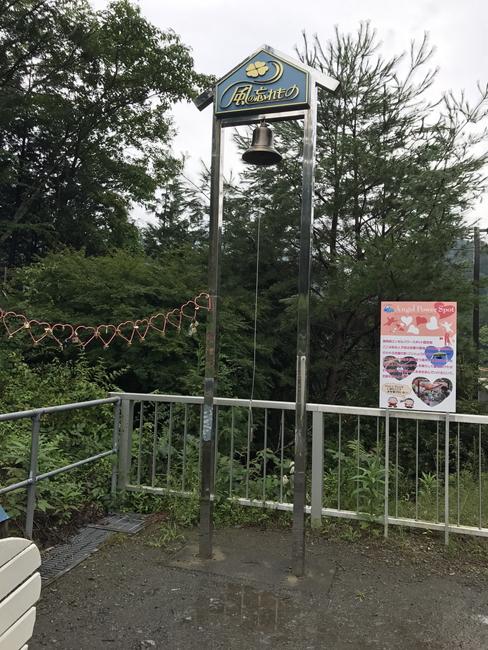 奥大井湖上駅にある鐘