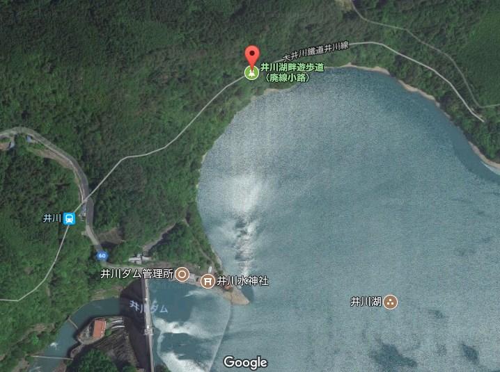 堂平駅の位置