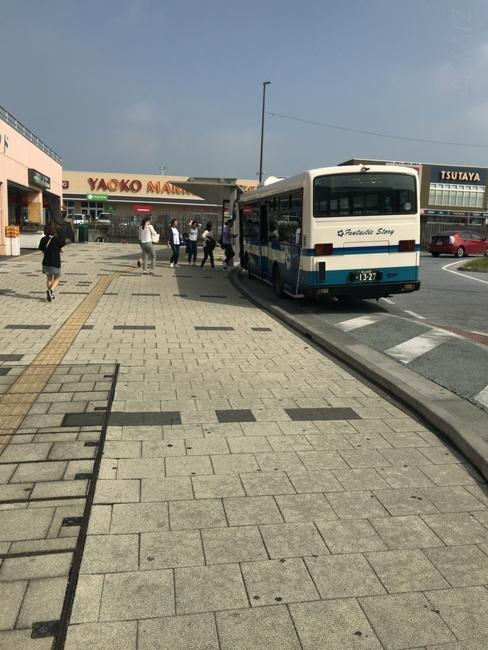 南桜井駅のイオンモール春日部バス