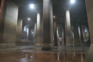 埼玉の地下神殿と話題の首都圏外郭放水路を見学できるツアーに参加してきた