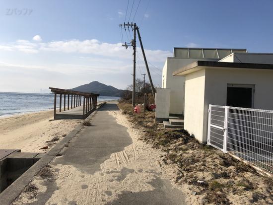 男木島の大井海水浴場