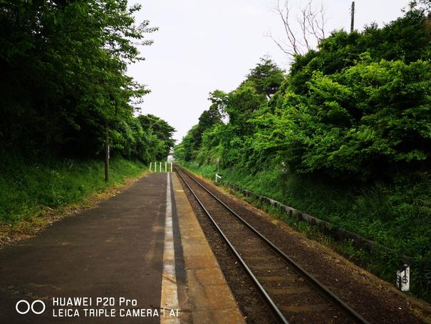 殿山駅から見た景色