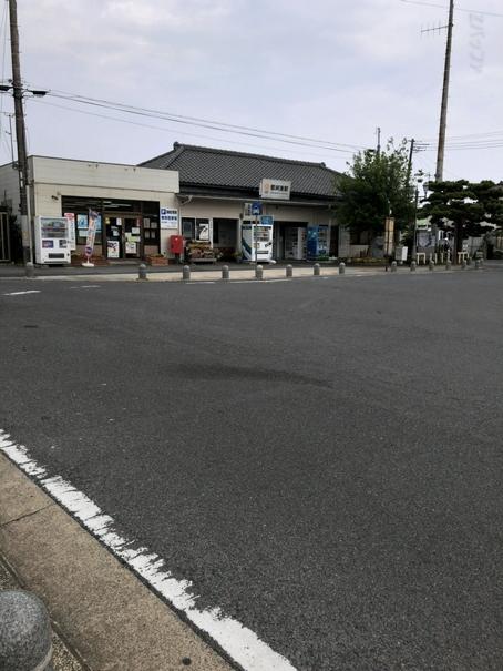 那珂湊駅の駅舎と駅前