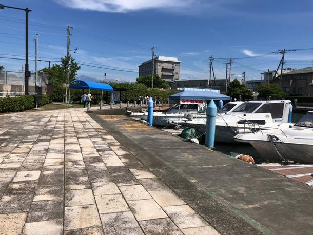 岩瀬カナル会館の船乗場