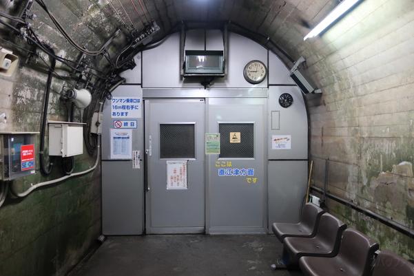 直江津方面の待合室