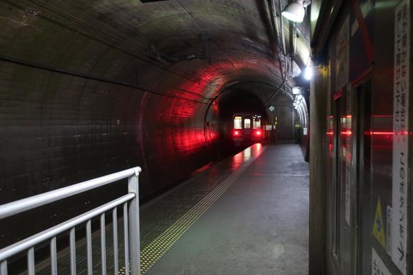 美佐島駅のホーム