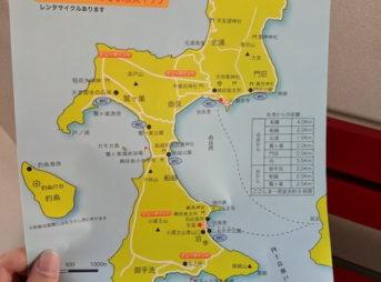 興居島(ごごしま)の散策マップ