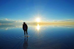 日本のウユニ塩湖と呼ばれる江川海岸へ写真を撮影しに行ってきた