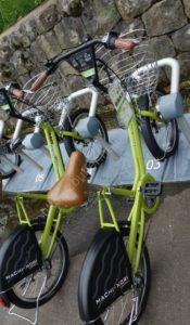 金沢のレンタル自転車置場