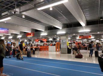 成田空港ジェットスター航空のカウンター