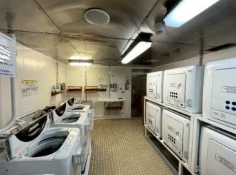 飛鳥Ⅱの洗濯機と乾燥機