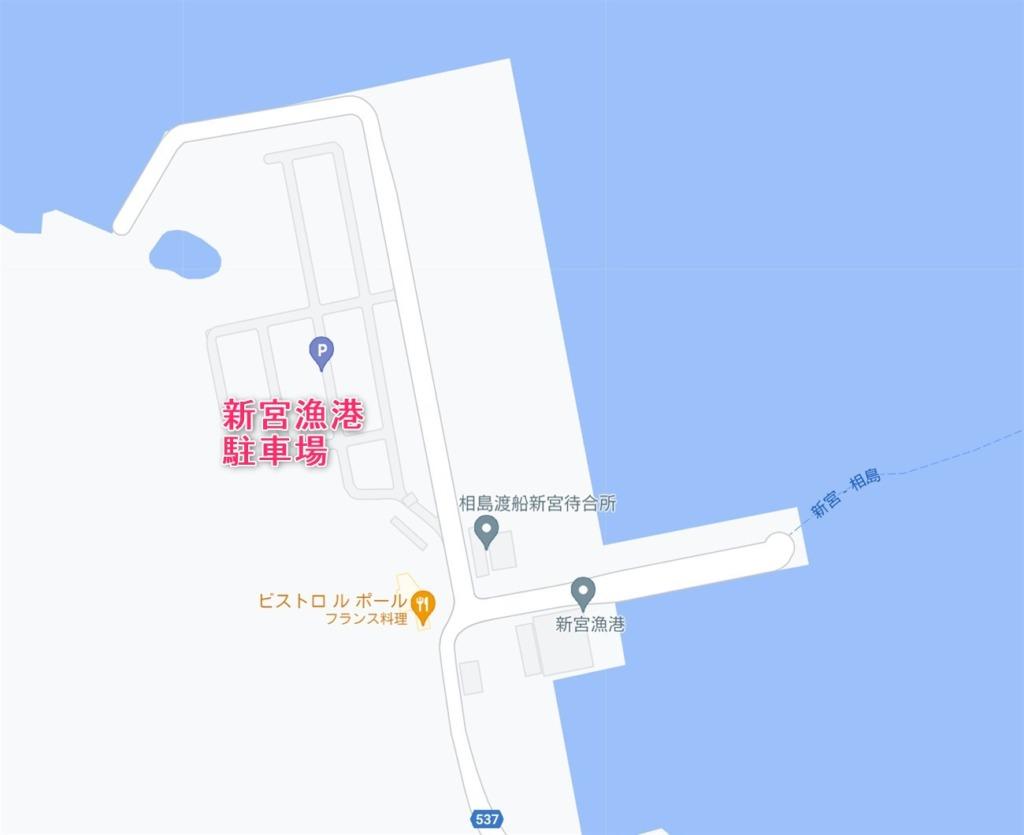 新宮漁港駐車場