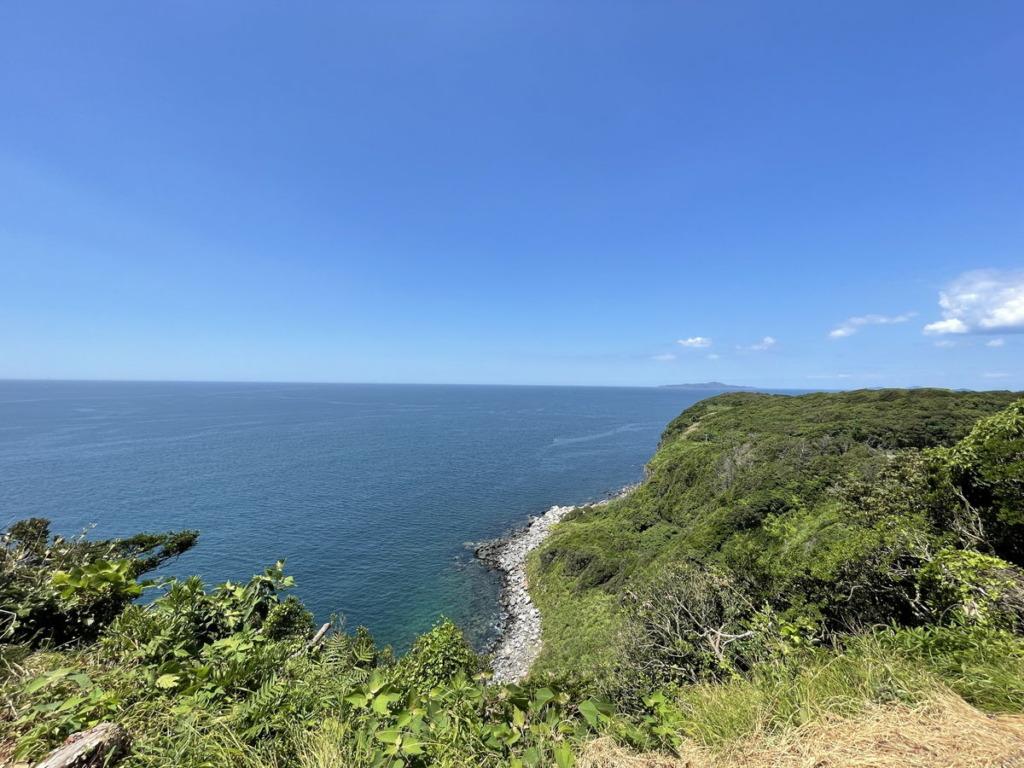 相島からの景色