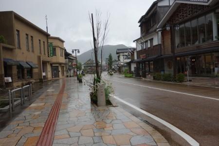 山中温泉街