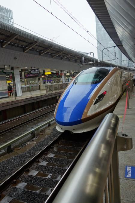 北陸新幹線E7系車両