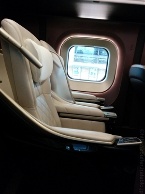 北陸新幹線グランクラスの座席