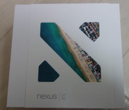 Nexus5Xの化粧箱