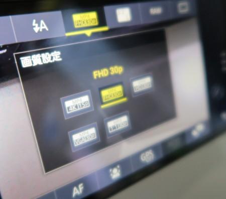 AndroidスマホCM10では4K動画撮影可能