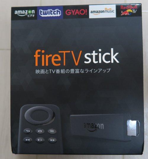 アマゾン Fire TV Stickの箱