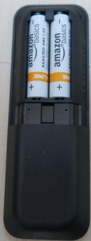 アマゾン Fire TV Stickのリモコンと電池