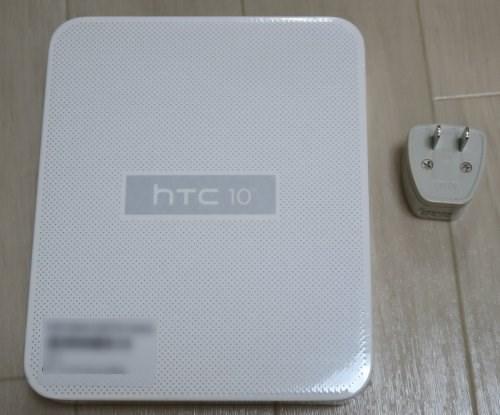HTC 10の化粧箱