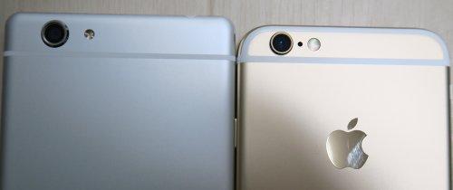 FREETEL SAMURAI REIとiPhoneのカメラ比較