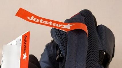 ジェットスター機内持ち込み手荷物重量検査OKマーク