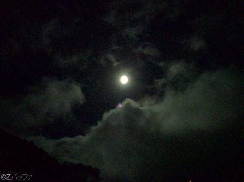 青ヶ島での月明かり