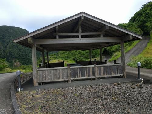 青ヶ島のキャンプ場