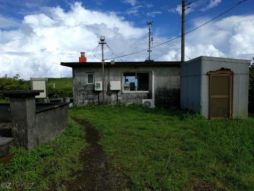 青ヶ島ヘリポート待機所