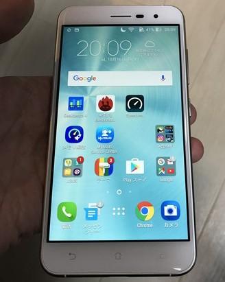 Zenfone3液晶画面