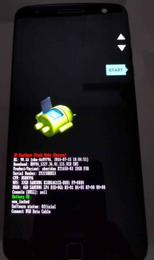 Androidの強制初期化方法