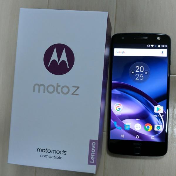 Moto Z開封