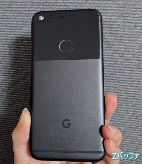 Google Pixelのデザイン外観
