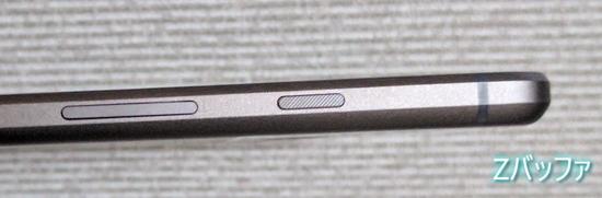 Google Pixelの電源ボタン
