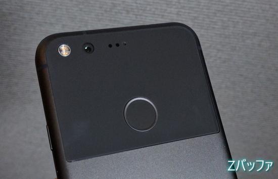 Google Pixelのカメラ部分のデザイン