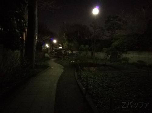 ファーウェイ novaで撮影した夜景写真