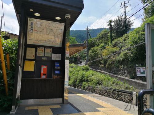 白丸駅の新駅舎