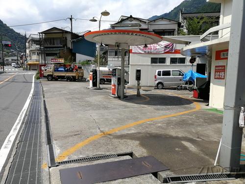 奥多摩駅近辺の最終ガソリンスタンド