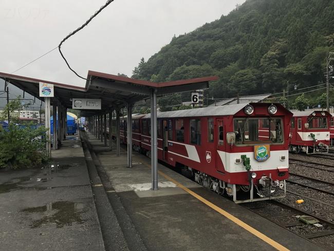 井川線の列車