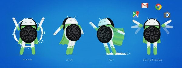 Android8.0Oreoのロゴ