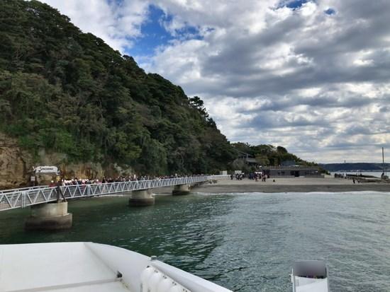 猿島の浅橋